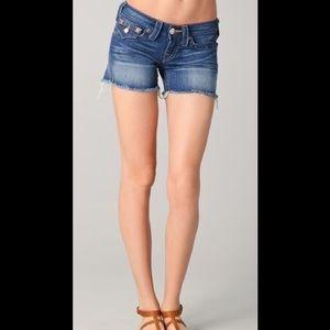True Religion Keira shorts,size 29, 100% cotton